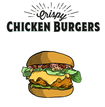 Burger au poulet Factory and Co