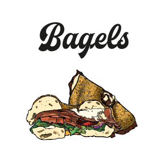 Bagels chez Factory and Co